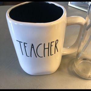 "Rae Dunn ""teacher  "" mug"